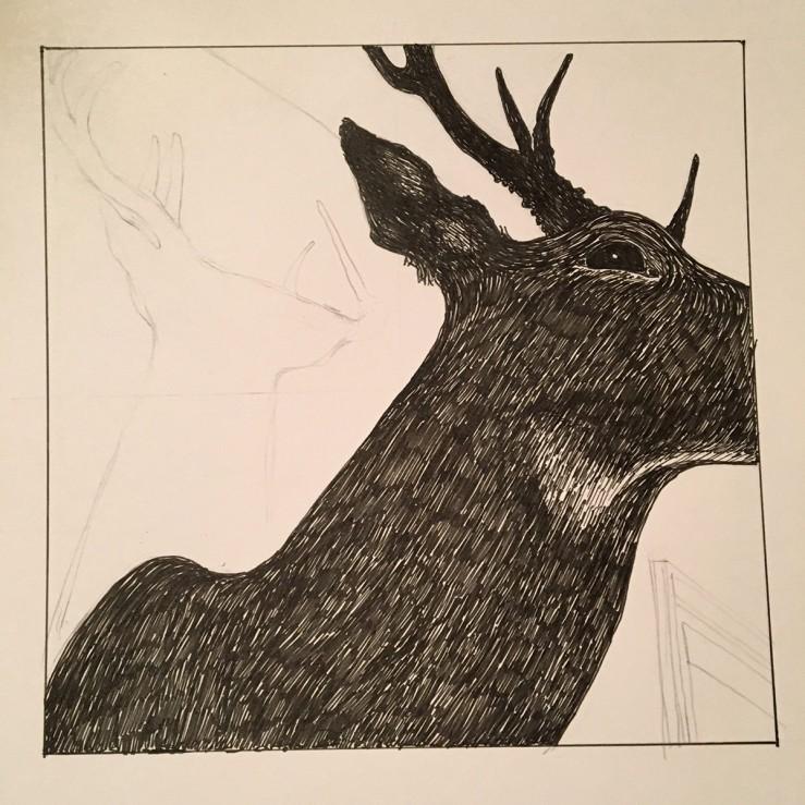 drawing process photo