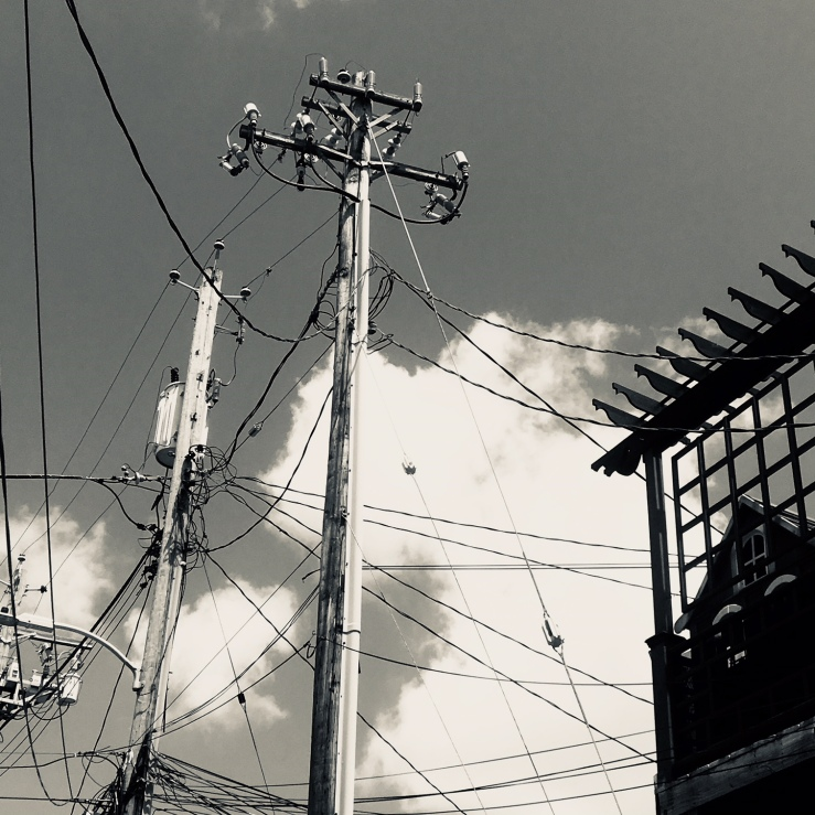 wires on Baltimore