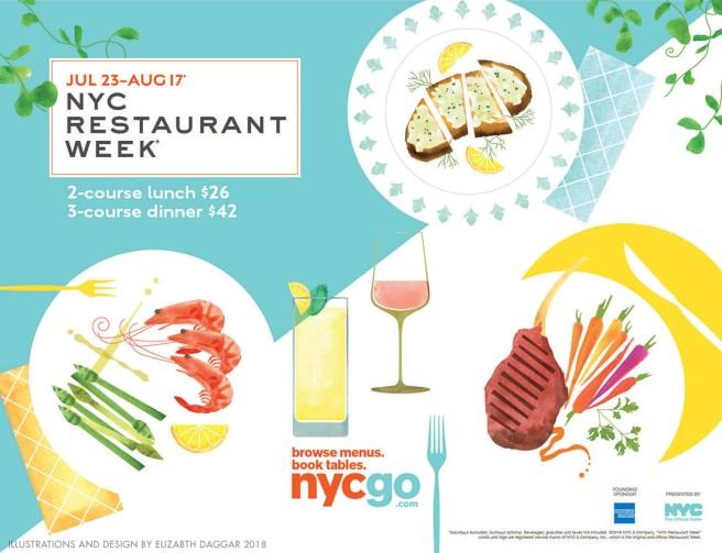 NYC Restaurant Week 2018