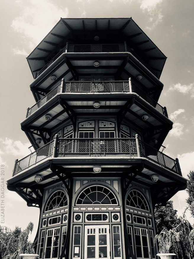 Photo of the pagoda in Patterson Park, Baltimore