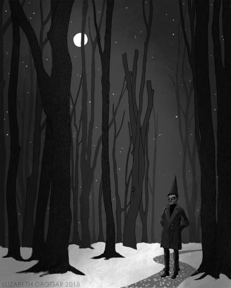 Witch-boy digital study No.2