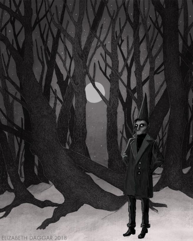 Witch-boy digital study No.3