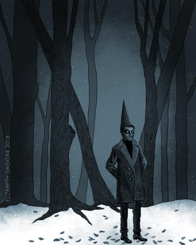 Witch-boy digital study No.4