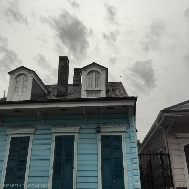 Houses of the French Quarter, NOLA