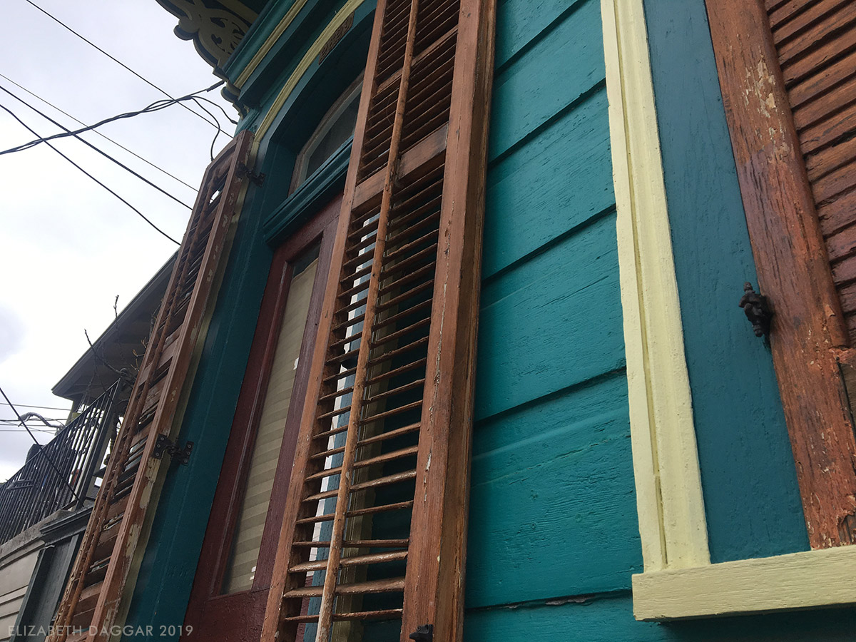 Fabulous colors of paint in the Marigny, NOLA