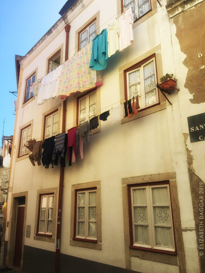 Clothes in the line in Alfama, Lisbon